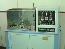 flame test machine