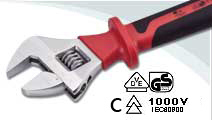VDE Adjustable Wrench