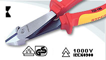 VDE Diagonal Cutting Pliers