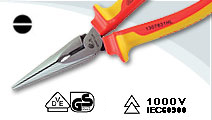VDE Long Nose pliers European type