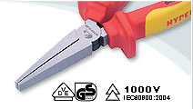VDE Flat Nose Pliers