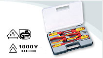 7 PCS VDE Pliers Set