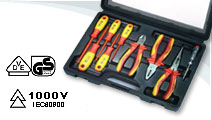9 PCS VDE Pliers Set